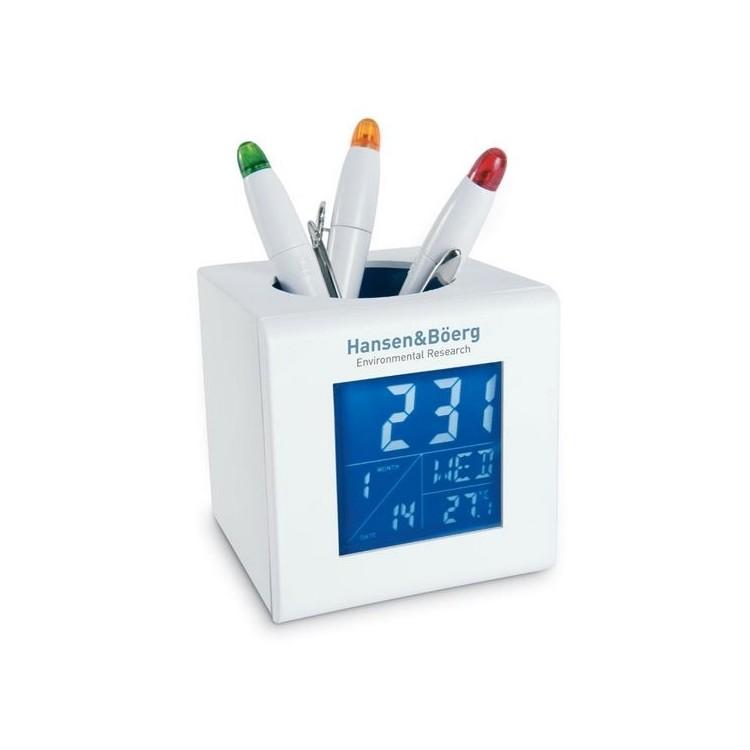 Station météo/ porte stylo - Station météo à prix grossiste