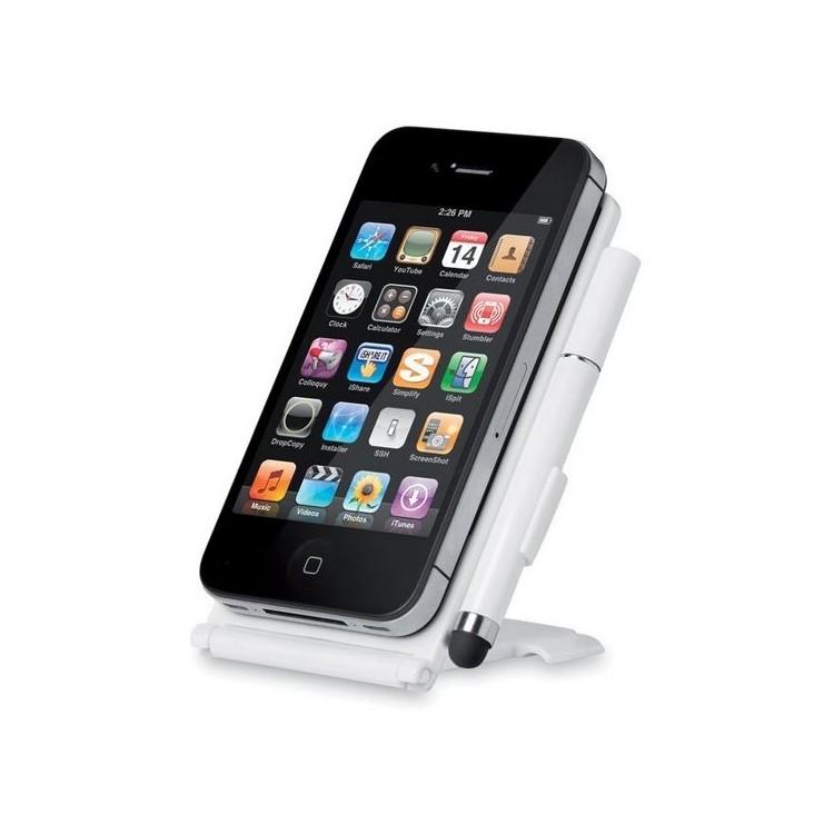 Socle Smartphone avec stylet à prix grossiste - Stylet tactile à prix de gros