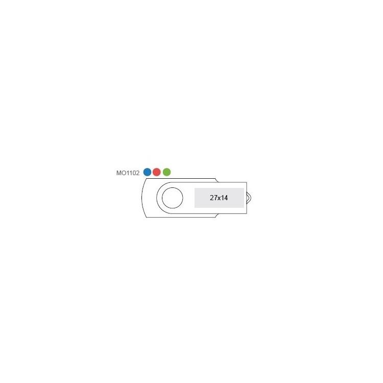 Clé USB Rotoflash - 2 Go - Clé usb à prix grossiste