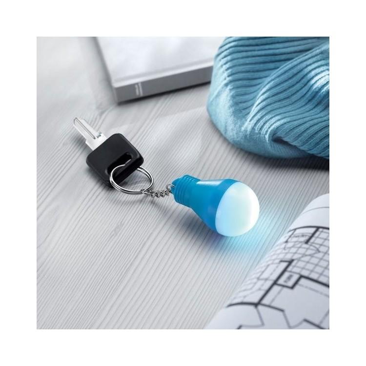 Lampe ampoule avec porte-clés - Porte-clés lumineux à prix de gros