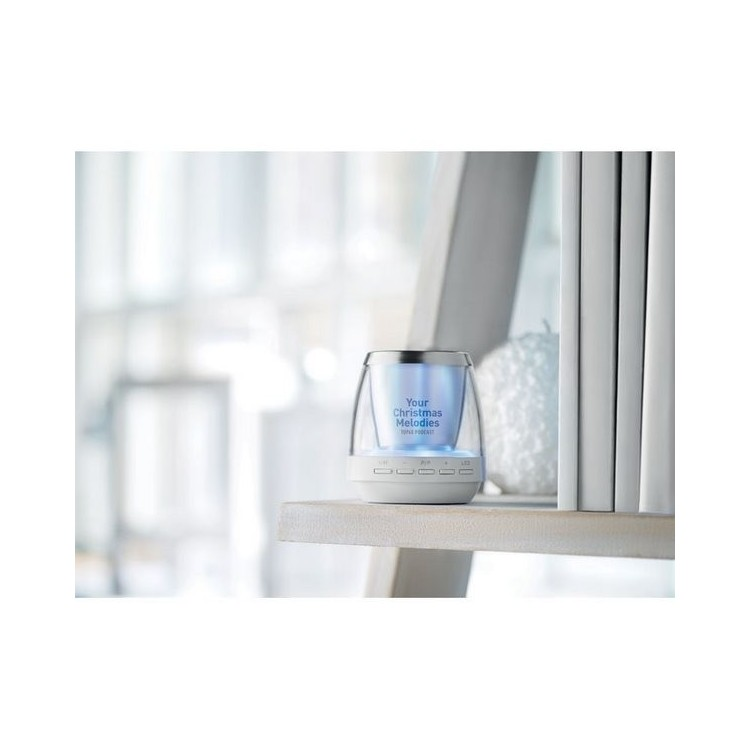 Enceinte bluetooth lumière d'ambiance - Accessoire pour tablettes à prix grossiste