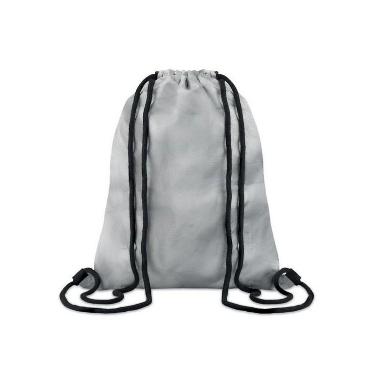 SILVER TYSHOOP - Sac cordelette Tyvek® à prix grossiste - Accessoire recyclable à prix de gros