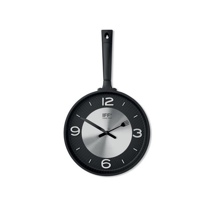 PAELLA - Horloge murale casserole - Horloge à prix grossiste