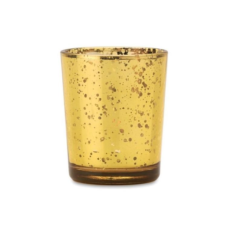 PURPURIN - Bougeoir en verre à prix grossiste - Accessoire de noël à prix de gros