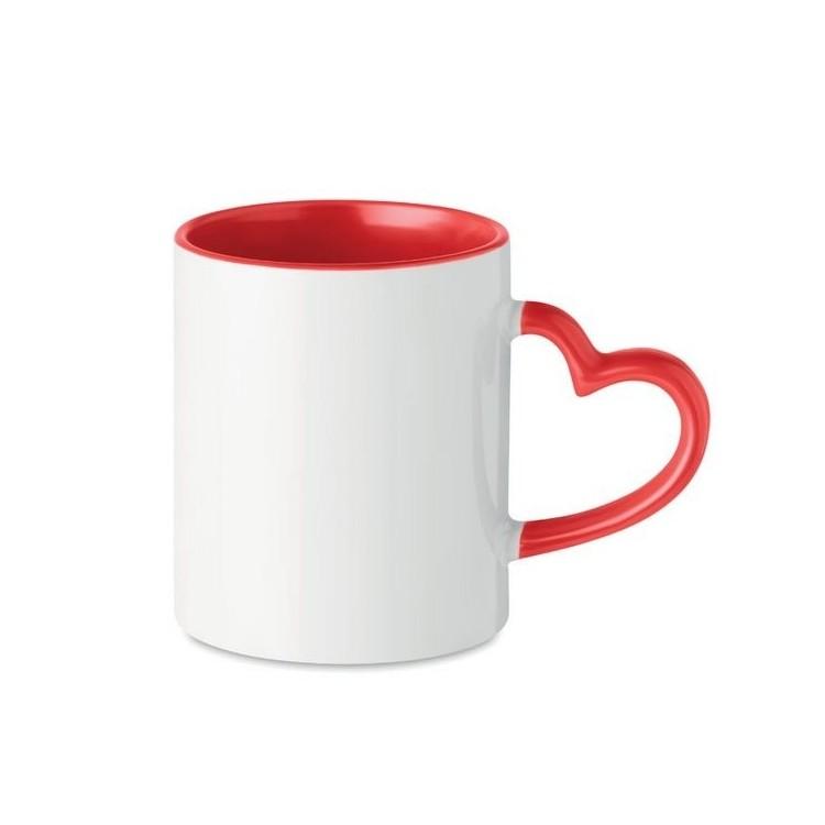 Tasse en céramique 300ml - SUBLIM RED - Tasse à prix grossiste
