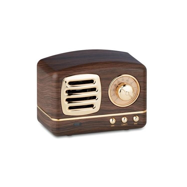 Haut-parleur Bluetooth 3W - MEMPHIS à prix de gros - Jouet en bois à prix grossiste