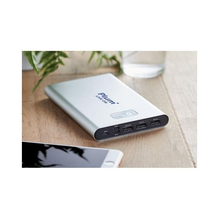 Powerbank 16000mAh en alu - POWERHOUSE à prix de gros - Accessoire pour tablettes à prix grossiste
