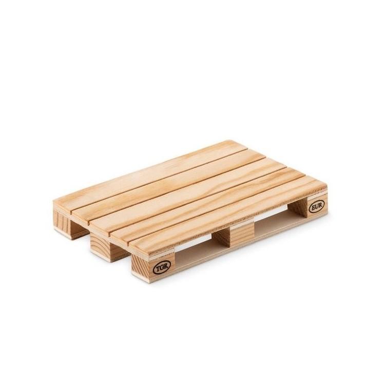 Sous verre en forme de palette - PALY - Produits en bois à prix de gros