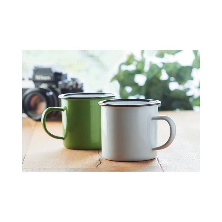 Mug vintage en métal 350ml. - ORIGINAL TWEENIES - Mug à prix grossiste