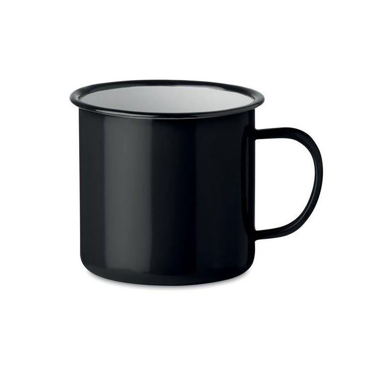 Mug vintage en métal 350ml. - ORIGINAL TWEENIES - mug émaillé à prix grossiste