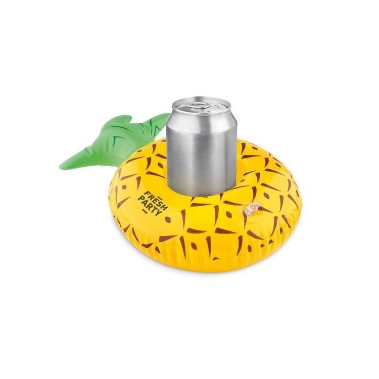 Porte-canettes ananas. - MINI PIA à prix grossiste - Accessoires de piscine à prix de gros