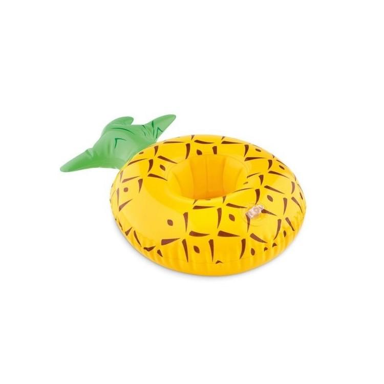 Porte-canettes ananas. - MINI PIA à prix grossiste - Accessoire de piscine à prix de gros