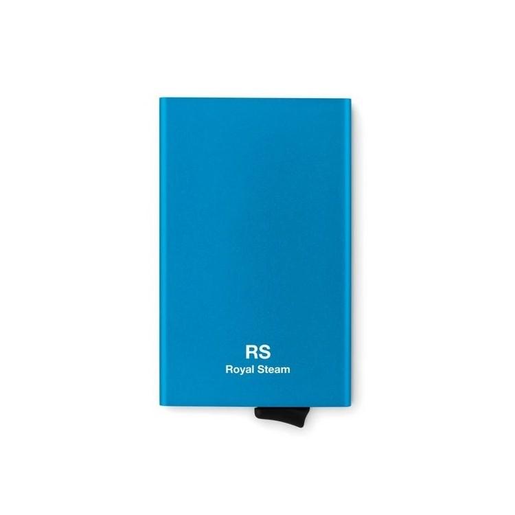 Porte carte RFID en aluminium  - SECURPUSH - Porte-cartes de crédit à prix grossiste