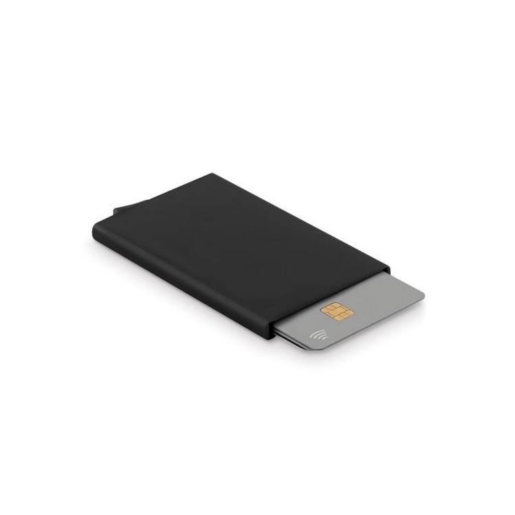 Porte carte RFID en aluminium  - SECURPUSH - Accessoire de maroquinerie à prix grossiste