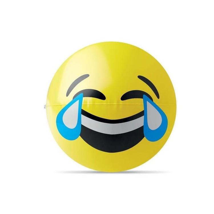 Ballon de plage emoji. - LAUGHY à prix de gros - Article de loisir à prix grossiste