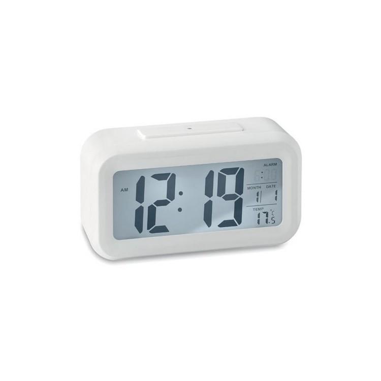 Station météo et réveil. - SINGAPUR - Thermomètre électronique à prix grossiste