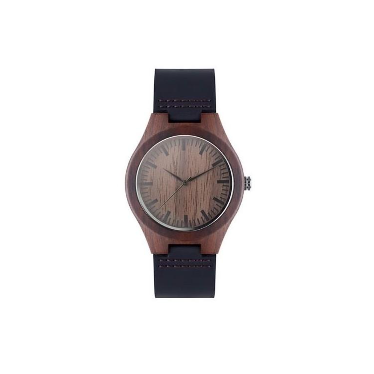 Leather watch - SION - Montre analogique à prix grossiste