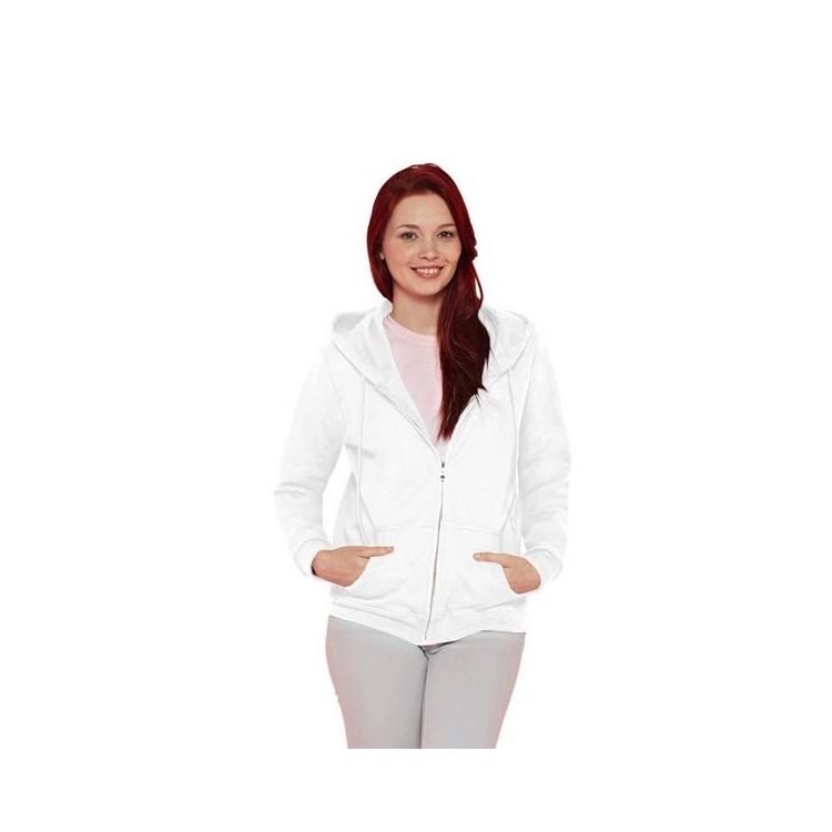 Sweat à capuche zip Femme - Sweat-shirt à prix grossiste