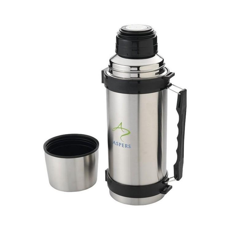 Flasque isotherme avec sangle Everest 1000ml - Bouteille isotherme à prix grossiste