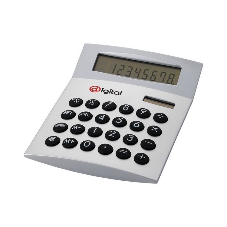 Calculatrice de bureau Face-it à prix grossiste - Produit à énergie solaire à prix de gros