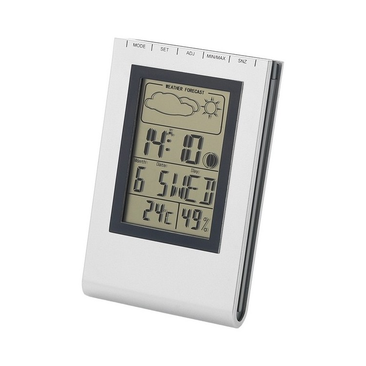 Station météo de bureau Rimini à prix de gros - Thermomètre électronique à prix grossiste