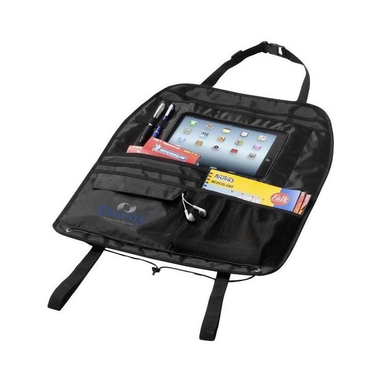 Rangement pour véhicule avec compartiment pour tablette Back seat - Etui tablette à prix grossiste