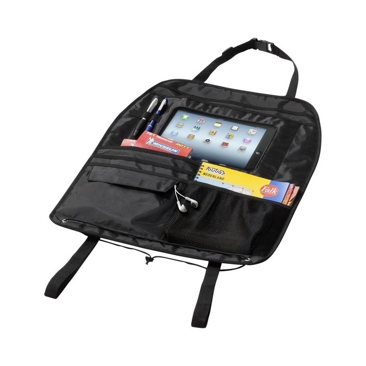 Rangement pour véhicule avec compartiment pour tablette Back seat - étui tablette à prix grossiste