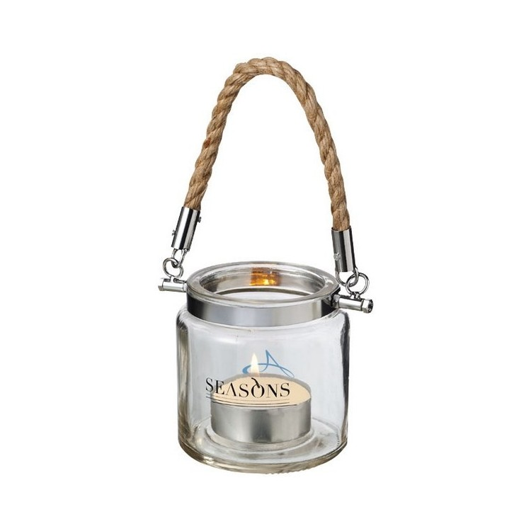 Lanterne Solano en verre - Bougeoir à prix grossiste