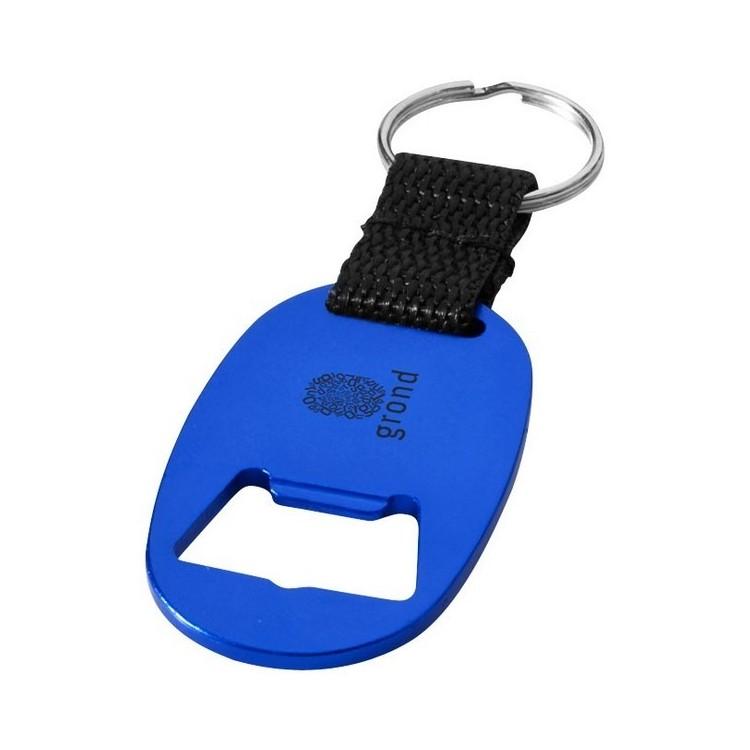 Porte-clés ouvre-bouteille Keta - Porte-clés 2 usages à prix grossiste