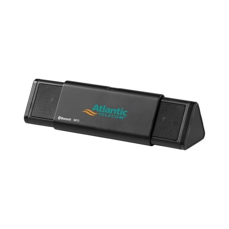 Enceinte Bluetooth® et NFC Sideswipe 2x3W à prix grossiste - Accessoire audio à prix de gros