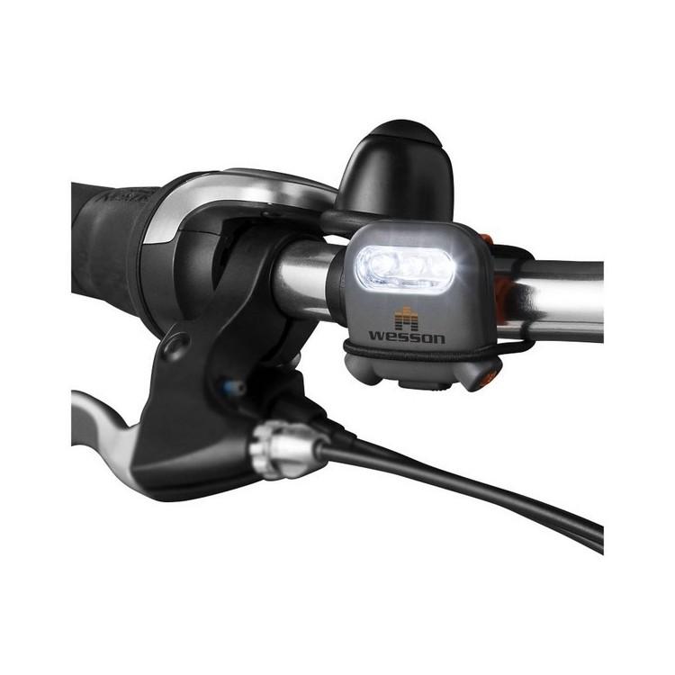Torche multifonction avec LED Pika à prix grossiste - Accessoire de vélo à prix de gros