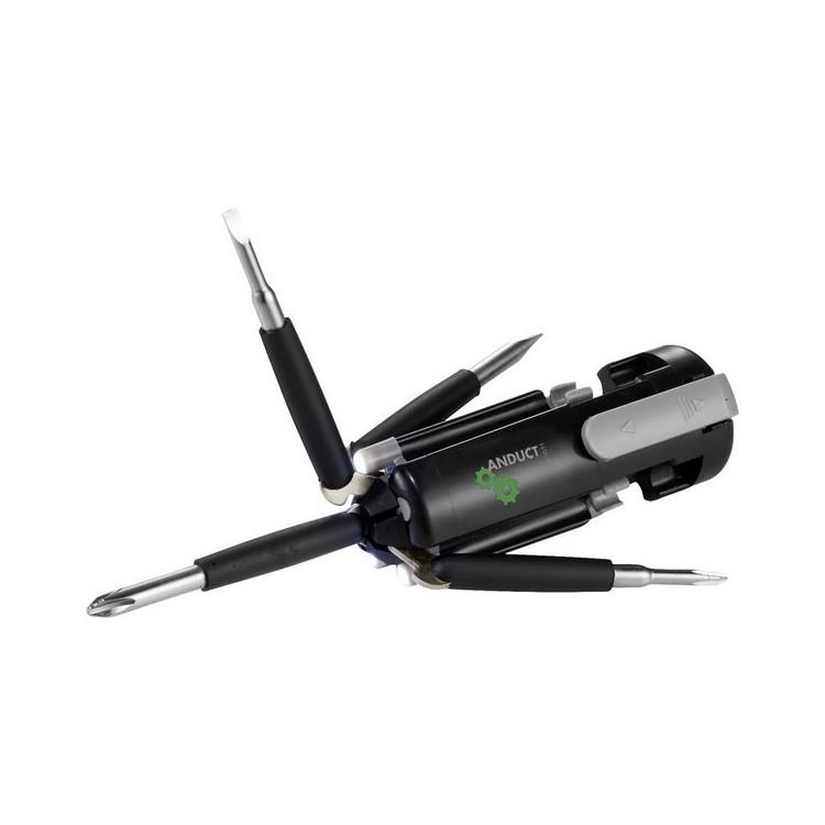Outil 6 fonctions avec lampe LED Stantech à prix grossiste - Coffret à outils à prix de gros