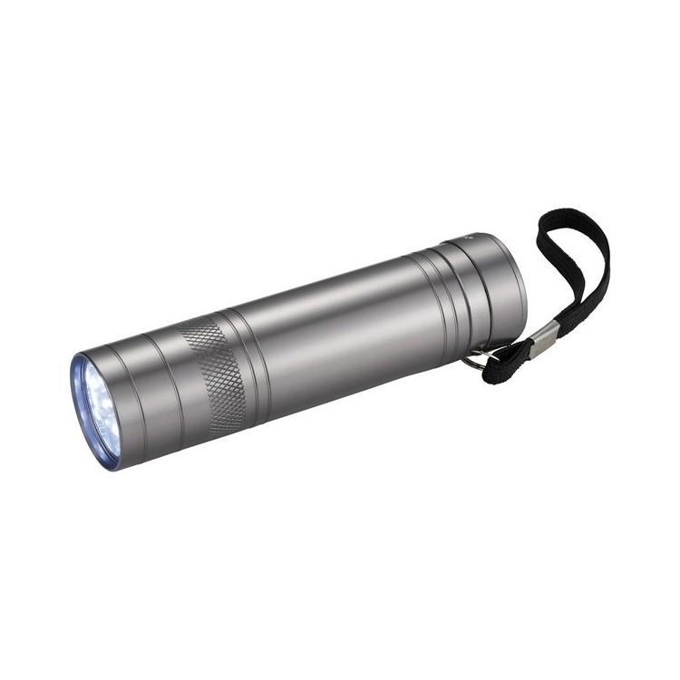 Ouvre-bouteilles lampe torche 9 LED Oppy à prix grossiste - Lampe de poche à prix de gros