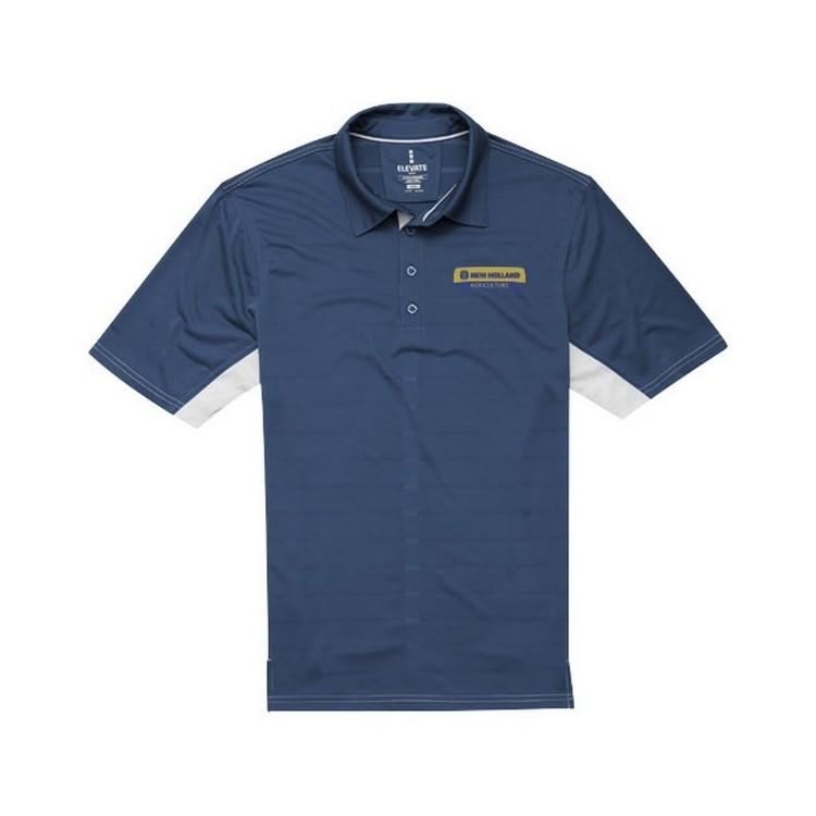 Polo cool fit manches courtes pour hommes Prescott - Textile à prix de gros