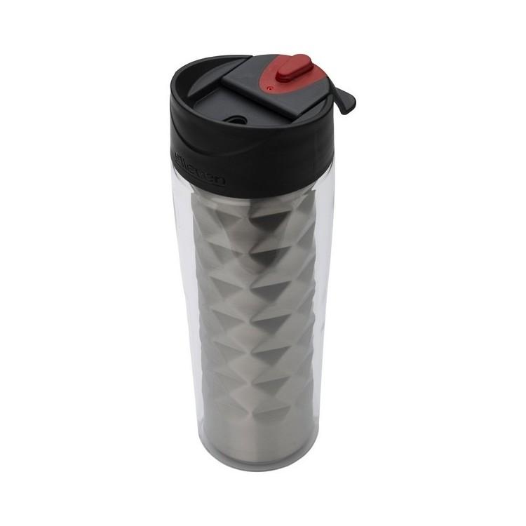 Mug 2 en 1 Elleven isolant Traverse 475ml à prix grossiste - Mug isotherme à prix de gros