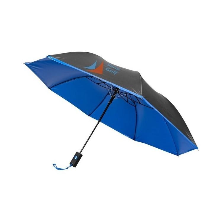 Parapluie 21  pliable à ouverture automatique Spark - Parapluie compact à prix de gros