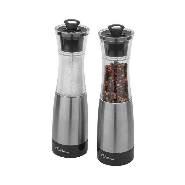 Ensemble de moulins à sel et poivre Duo - Salière / poivrière à prix de gros