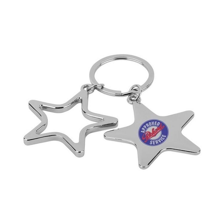 Porte-clés Star à prix de gros - Porte-clés métal à prix grossiste
