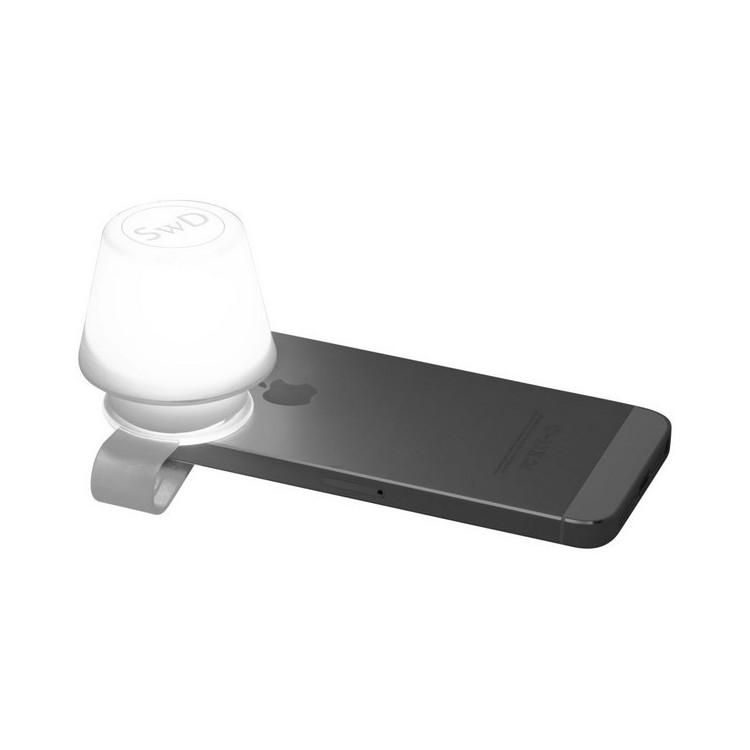 Abat-jour et support média Saga - Lampe LED à prix de gros