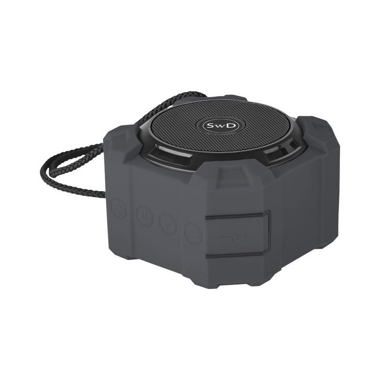 Haut-Parleur Bluetooth Cube 5W - Matériel de camping à prix grossiste