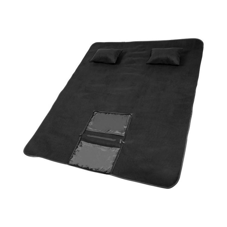 Ensemble pour pique-nique Chill avec couverture et 2 coussins gonflables à prix grossiste - Accessoire de pique-nique à prix de gros