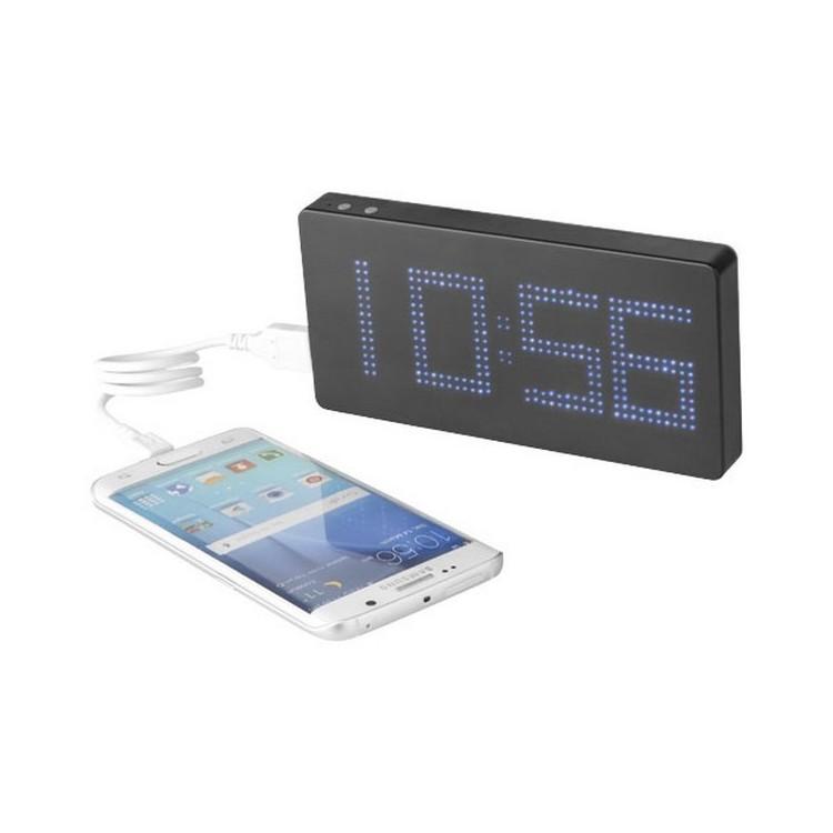 Batterie PB-8000 mAh avec affichage LED - Horloge à prix de gros