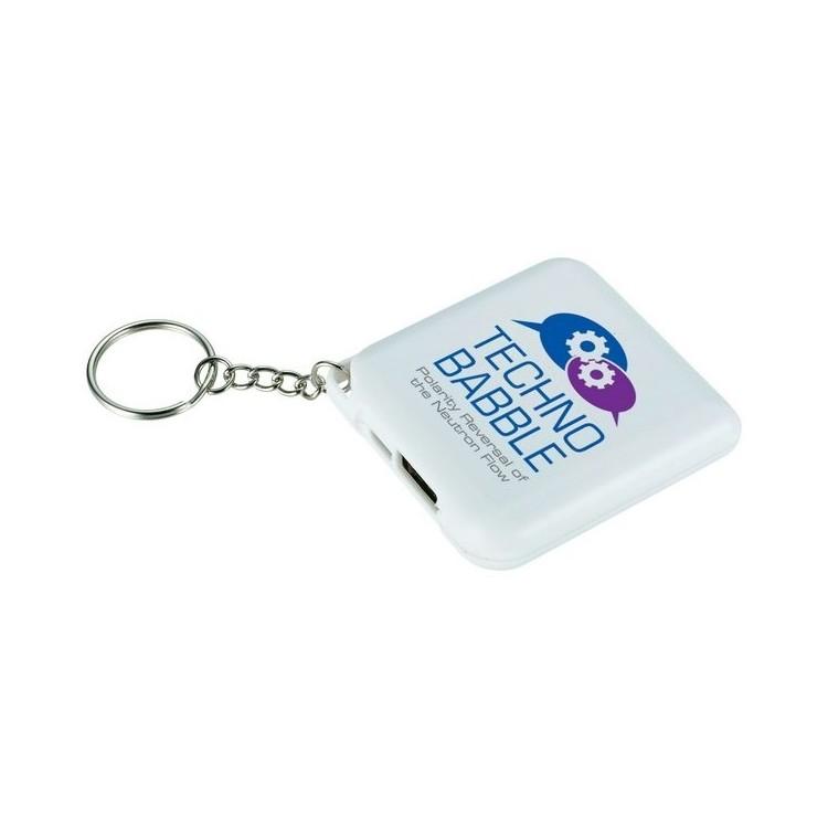 Batterie avec porte clés 1800mAH à prix de gros - Porte-clés 2 usages à prix grossiste