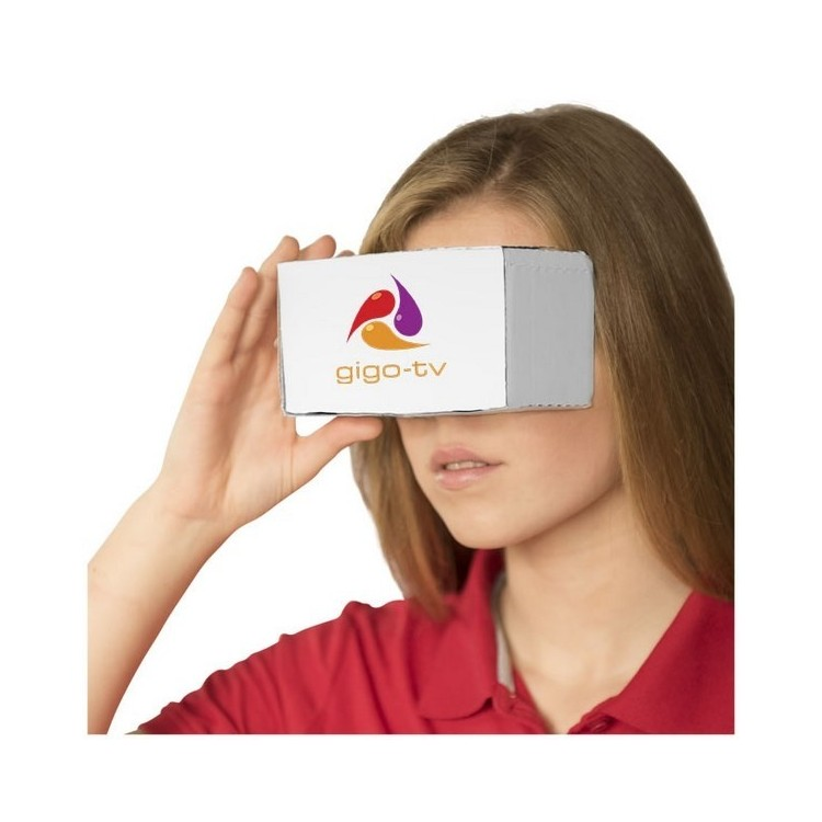 Lunettes Réalité Virtuelle en carton Veracity - Casque VR à prix de gros