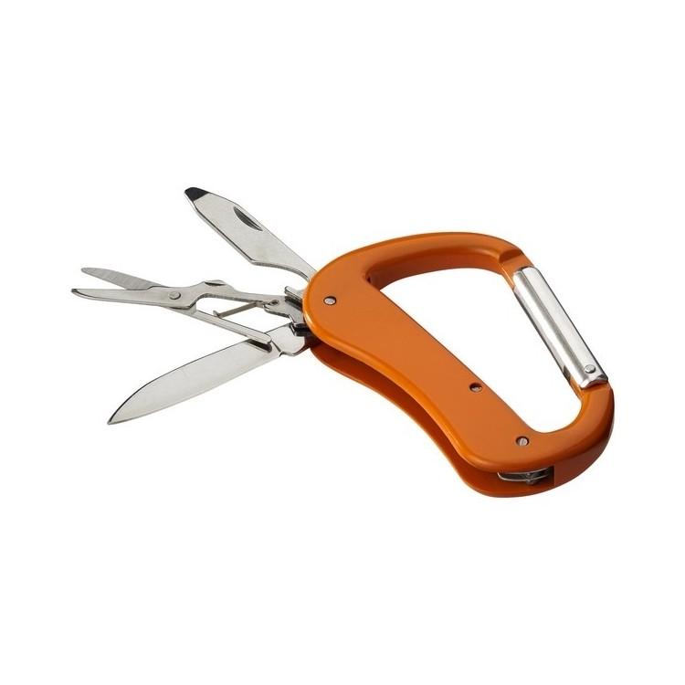 Couteau mousqueton 5 fonctions Canyon à prix grossiste - Mousqueton à prix de gros