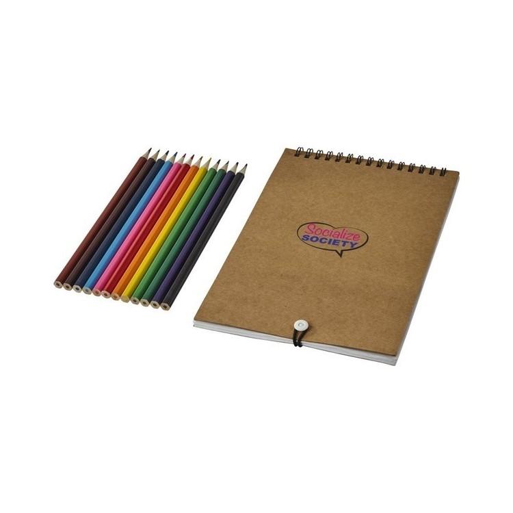 Set de coloriage Claude avec carnet - Kit à dessin et coloriage à prix grossiste