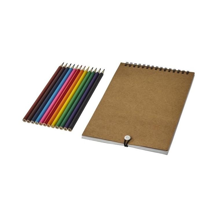 Set de coloriage Claude avec carnet - Stylo à prix grossiste