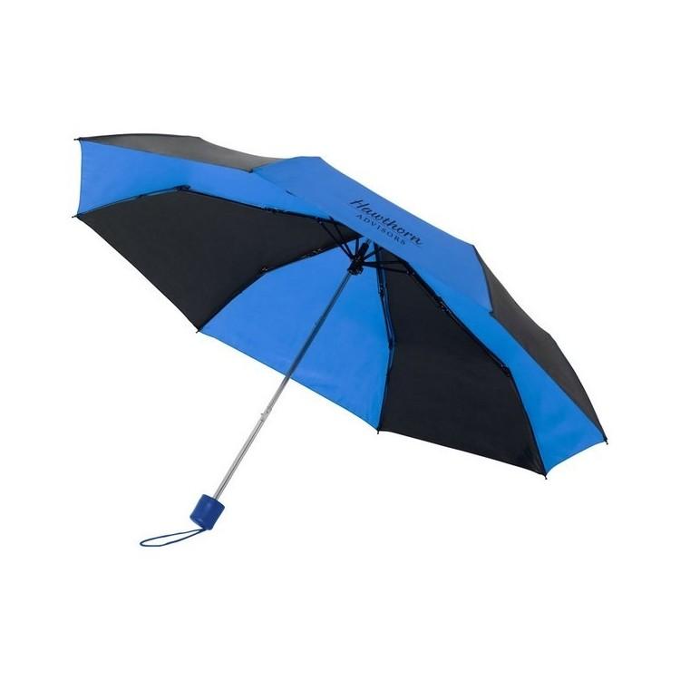 Parapluie bicolore pliable 21 Sparks à prix de gros - Parapluie classique à prix grossiste