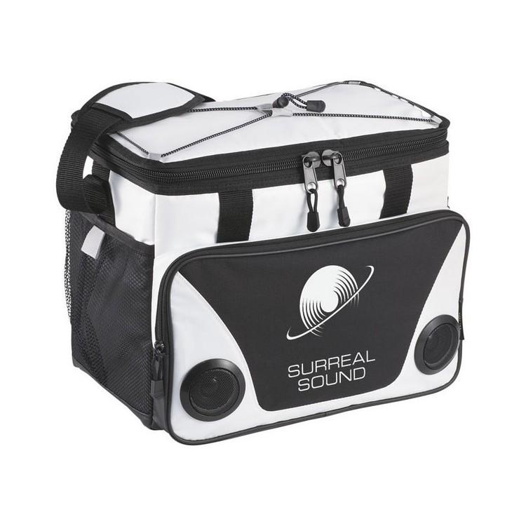 Sac isotherme avec haut parleurs 24 canettes Titan ThermaFlect® - Accessoire de pique-nique à prix de gros