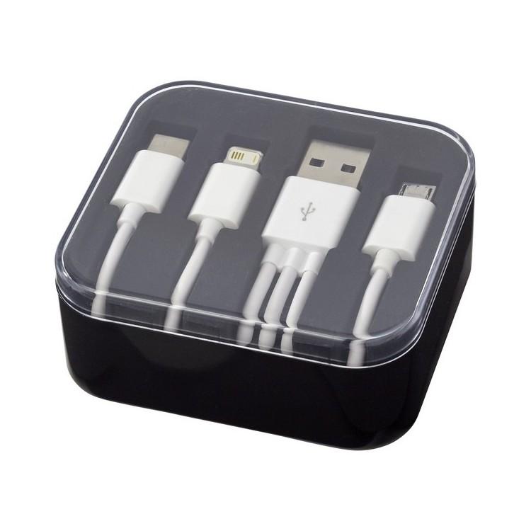 Câble de chargement 3 en 1 Tril - Accessoire pour tablettes à prix grossiste